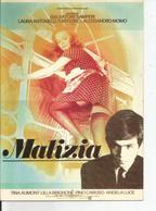 """FICHE TECHNIQUE DU FILM  """" MALICIA """" 1973  De Salvatore SAMPERI - Collections"""