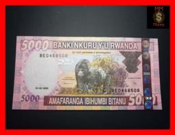 RWANDA 5.000 5000 Francs 1.2.2009  P. 37  UNC - Rwanda