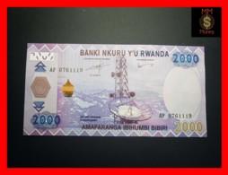 RWANDA 2.000 2000 Francs 1.12.2014  P. 40  UNC - Rwanda
