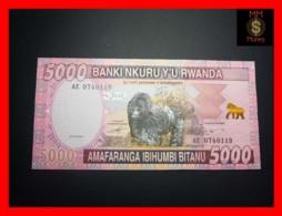 RWANDA 5.000 5000 Francs 1.12.2014  P. 41  UNC - Rwanda