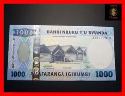RWANDA 1.000 1000 Francs 1.2.2008  P. 35    UNC - Rwanda