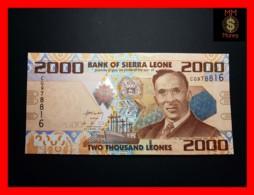 SIERRA LEONE 2.000 2000 Leones 27.4.2010 P. 31 A   UNC - Sierra Leone