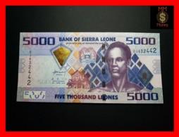 SIERRA LEONE 5.000 5000 Leones 27.4.2010 P. 32 A  UNC - Sierra Leone