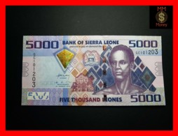 SIERRA LEONE 5.000 5000 Leones 4.8.2013 P. 32 B  UNC - Sierra Leone