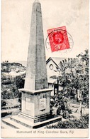 FIJI  MONUMENT OF KING CAKOBAU SUVA - Figi