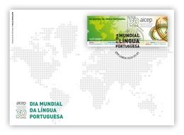 Portugal & FDC AICEP 30 Years, World Portuguese Language Day 2020 (9741) - Idioma