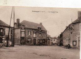 Domagné -   La  Grande  Rue. - Autres Communes
