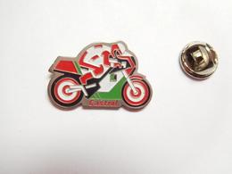 Beau Pin's , Moto , Huile , Oil Castrol - Motorfietsen