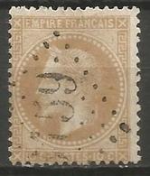 France - Napoleon III Et/ou Cérès - Oblitération Sur N°28B - GC 3159 LA ROCHE-BERNARD (Morbihan) - Marcophilie (Timbres Détachés)