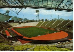 Allemagne Stade Olympique De Munich München Envoyée à 89 Quincerot Vers Tanlay En 1972 Terrain De Foot Tribunes VOIR DOS - München