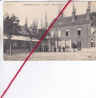 CP 62  -   CHOCQUES  -  Mairie - école Des Garçons - France
