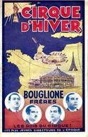 1939 PARIS PROGRAMME CIRQUE D'HIVER BOUGLIONE FRERES LES ROIS DU CIRQUE B.E.VOIR SCANS - Programmes