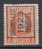 BELGIË - PREO - Nr 72 A - (BRUXELLES 1923 BRUSSEL) - (*) - Préoblitérés