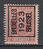 BELGIË - PREO - Nr 78 A - BRUXELLES 1923 BRUSSEL - MH* - Sobreimpresos 1922-31 (Houyoux)