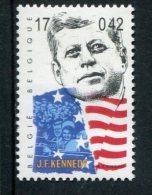 263684413 BELGIE POSTFRIS MINT NEVER HINGED POSTFRISCH EINWANDFREI OCB  2861 Jf Kennedy - Belgium