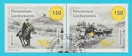 Liechtenstein  2020  Mi.Nr. 1971 / 1972 , EUROPA  CEPT Botenpost - Gestempelt / Fine Used / (o) - 2019
