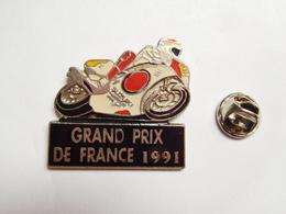 Beau Pin's En Zamac , Moto , Grand Prix De France 1991 , Moto Suzuki , Le Castellet , Circuit Paul Ricard , Non Signé - Motorfietsen