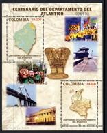 Colombie Colombia Bf 059 Danse ,carnaval , Pont , Or - Brücken