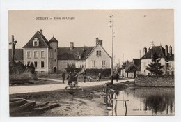 - CPA DEMIGNY (71) - Route De Chagny 1916 (belle Animation) - Cliché E. Humbert - - France