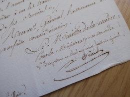 General EMPIRE. Mathias FRIRION (1752-1821) BAYONNE - Saragosse - Spana - AUTOGRAPH - Autographes