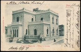 NOTO - PRINCIPE VILLADORATA - VILLINO S. CORRADO 1907 - Siracusa
