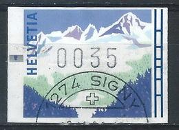"""DD-/-386. VIGNETTE """"HIVER """" Avec L'erreur De Décimale 0.05 C. = 0.35 C. - Cote 75.00 CHF = 60.00 € , VOIR EXPLICATIF - Automatic Stamps"""