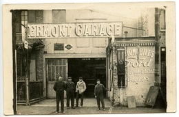 ERMONT - Carte Photo Ermont Garage  - Automobiles FORD - Pompe à Essence - Voir Scan - Ermont
