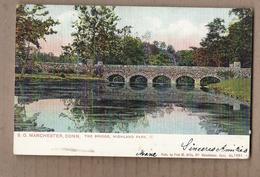 CPA USA - CONNECTICUT - MANCHESTER - S.O. - The Bridge , Highland Park - TB PLAN - 1907 - United States