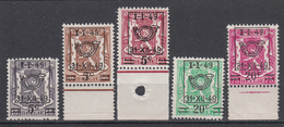 BELGIË - OBP - 1949 - Nr 798/02 - MNH** - 1935-1949 Petit Sceau De L'Etat