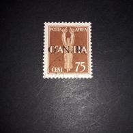 "PL0375 REPUBBLICA SOCIALE ITALIANA 1943 SOPRASTAMPA G.N.R. POSTA AEREA ""XO"" - Usados"