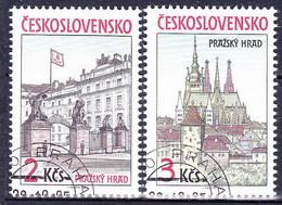 Tchécoslovaquie 1985 Mi 2834-5 (Yv 2645-6), Obliteré - Tsjechoslowakije