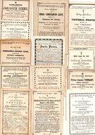 E14.  13 Doodsprentjes West-Vlaanderen   + Pre-1900 - Devotieprenten