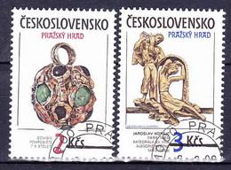 Tchécoslovaquie 1986 Mi 2865-6 (Yv 2678-9), Obliteré - Tsjechoslowakije