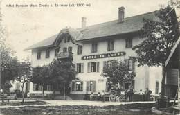 SAINT IMIER - Hôtel Pension Mont Crosin.(Hôtel De L'Ours) - BE Berne