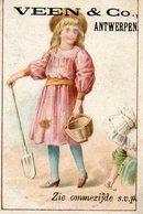 Image, Chromo, Enfants, Veen & Co. Antwerpen, Anvers. - Cromo