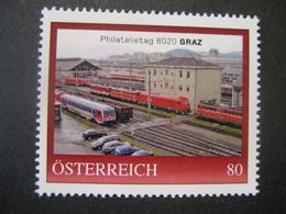 Österreich- Pers.Bm Philatelietag 8020 Graz 8132932** - Sellos Privados