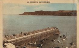 BREHEC  La Jetée Et La Pointe De La Tour - Autres Communes