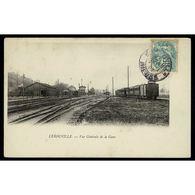 55 - LEROUVILLE (Meuse) - Vue Générale De La Gare - Lerouville