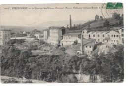 AIN  BELLEGUARDE LE QUARTIER DES USINES CORROIERIE PERROT  (EDIT CHAMBON) - Bellegarde-sur-Valserine