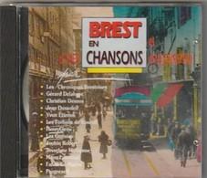 """Cd BREST EN CHANSON """" RARE """" D Hier Et D Aujourd Hui Etat: Port 105 GR - Musiques Du Monde"""