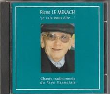 """Cd """" Rare """" Vannes Pierre Le Menach CHANT TRADITIONNELS DU PAYS VANNETAIS Port 105 GR - Musiques Du Monde"""