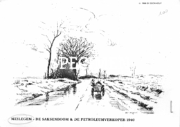 De Saksenboom & De Petroleumverkoper 1940 - Meilegem - Zwalm