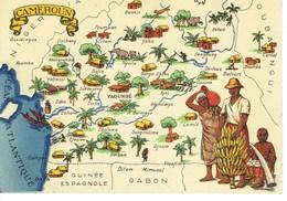 CARTE POSTALE CAMEROUN - Camerún