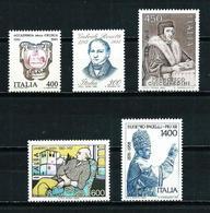 Italia 5 Series (1983) Nuevo Cat.9,50€ - 1946-.. République