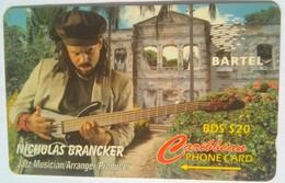 125CBDD Nicholas Brancker BDS$20 (slash C/n) - Barbades