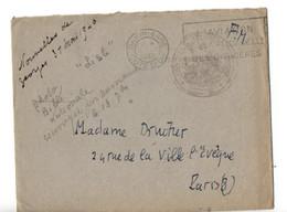 B10   29 05 1940 Lettre+courier En FM  Censure Civile  Parle De Censure Militaire Entre Autre... - Marcophilie (Lettres)