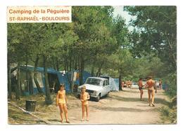 CP Saint-Raphaël-Boulouris - Camping De La Péguière - Vue Prise à L'intérieur Du Camp. - Saint-Raphaël