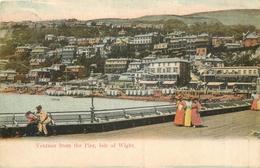 ANGLETERRE - ISLE OF WIGHT - VENTNOR From The Pier - Ventnor
