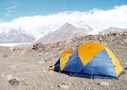 6 AK Antarctica / Antarktis * Forscher Und Landschaften (Transantarctic Mountains, Mount Erebus, Dry Valley) * - Cartoline