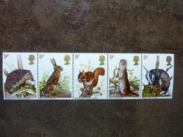 1977  British Wildlife   SG = 1039 / 1043   **  MNH - Ungebraucht